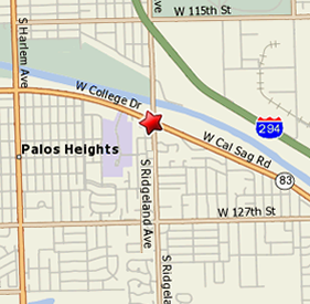 Palos Heights Map